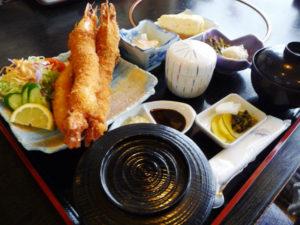 魚ごころ海老フライ定食