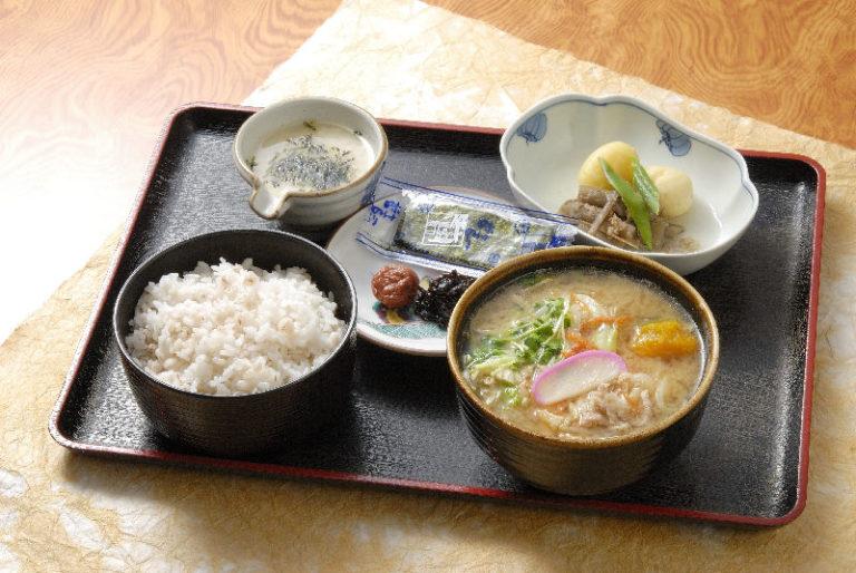 山本山 麦とろ定食