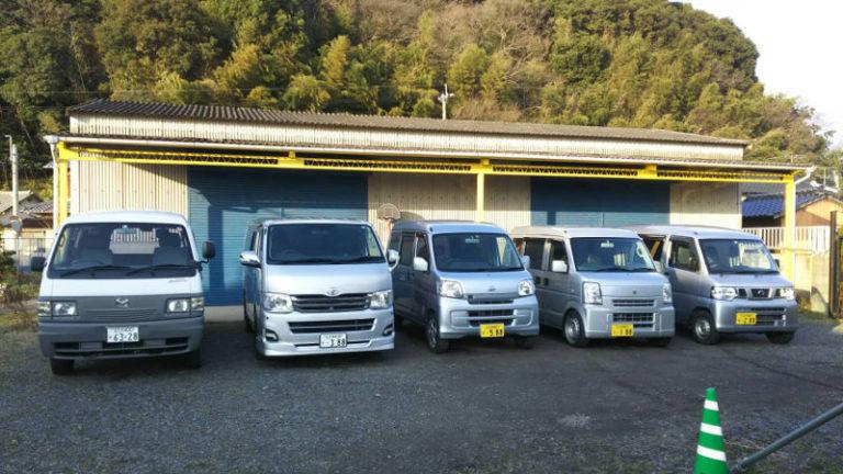 米穀販売卸白石商業自社流通トラック6