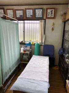 山崎治療院施術室