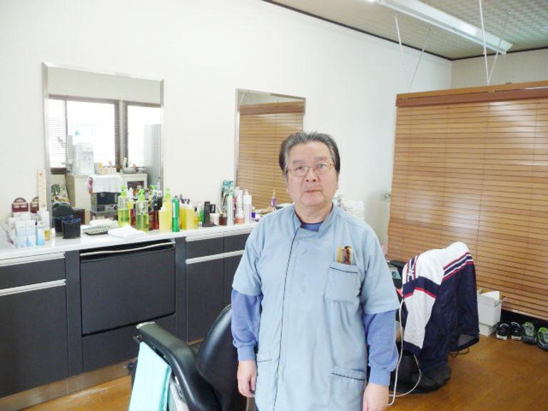 メッシュパーマが得意な 江藤理容店