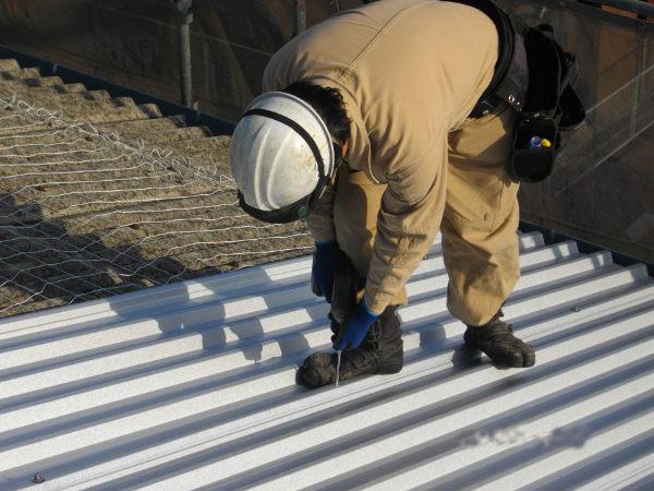スレート屋根カバー工事5