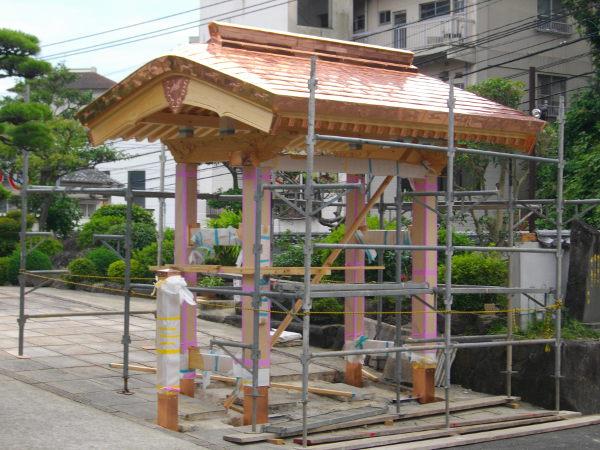 水巻板金銅板工事1