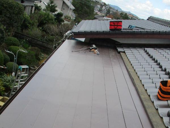 水巻板金屋根補修工事4-2