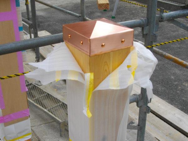 水巻板金銅板工事3
