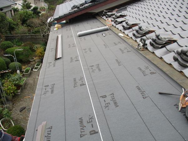 水巻板金屋根補修工事3