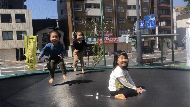 子供たちに笑顔を届ける! トランポリンパーク北九州